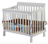 High Quality New Zealand Pinewood ASTM Certificated Environmental Baby Crib