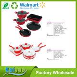 9 Piece Stainless Steel or Aluminum Nonstick Cookware Set