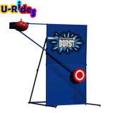 Pitch burst water game dunk tank machine water war game for event party