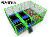 Manufacturing Indoor Big Commercial Trampoline for Kids and Adult