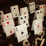 Thank You Design Playing Cards