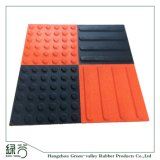 Factory Customized Anti-Slip Cheap Rubber Floor Tactile Tiles Paver Walkway/Park /Yard Floor/Garden/Playground for Blind People