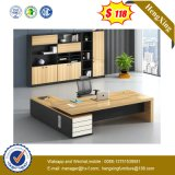 Cheap Adjustable L Shape Laminated Home Modern Wooden Furniture (HX-4788)
