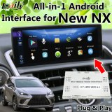 All-in-1 Plug&Play Android GPS Navigation for 2018 Lexus Nx200 Nx300 with Original Mouse, Touch Pad, Knob Control