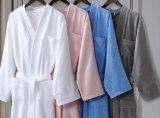 Professional High Quality Microfiber Terry Bathrobe for Hotel
