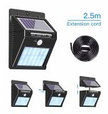 20/30/48 LEDs Solar Power Light LED Strips Bulb Waterproof Split Panel New Waterproof Deck Patio Security Lamp for Home Outdoor