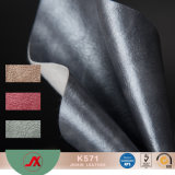 PVC Oily Sythetic Leather with Oily Surface, Popular Use for Ladies Handbags, Wallets, Purse