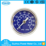 40mm Plastic Case Medical Oxygen Pressure Gauge for Equipment