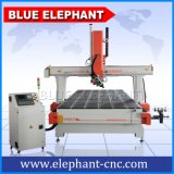 4 Axis CNC Router 2050 Price, Atc CNC Engraving Machine, with Caousel Tool and 9kw Hsd Air Cooling Spindle