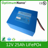 12V 25ah LiFePO4 Battery Pack
