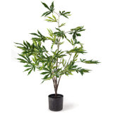 Outdoor High-Quality Hot Sale Lifelike Artificial Cannabis Plant/ Weed Plant