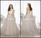Lace Wedding Dresses A-Line Bridal Dress Ball Gown W1517