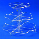 Acrylic Tiered Crystal Wedding Cake Stand (BTR-K3059)