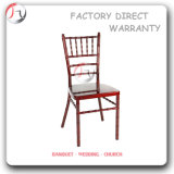 Banquet Wedding Exquisite Red Metal Tiffany Chairs (AT-09)