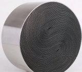 Metallic Honeycomb Monolith of Catalytic Converter of Power Plants