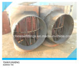 Done Heat Treatment API 5L X60 Carbon Steel Barred Tee