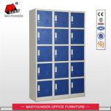 Modern Office Metal Furniture Food Industry Use Cheap 15 Door Steel Storage Locker