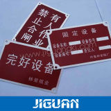 Custom High Quality Copper Metal Nameplate and Stickers (DC-H)