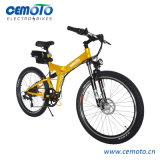 Folding MTB Electric Bicycle with Double Shock Absorber