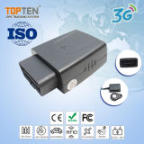 3G OBD Car Vehicle Google GPS Tracking with RFID Remote Anti-Jamming Immobilizer (TK208S-ER)