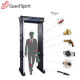 LED / LCD Screen 18 Zones 255 Degree Military Security Walk Through Metal Detector