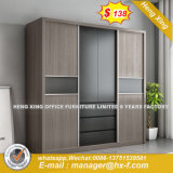 Functional Modern Metal Storage Sliding Doors Wardrobe (HX-8ND9593)