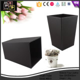 Leather Trash Bin for Hotel and Household (6619)