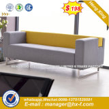 Modern Europe Design Steel Metal Leather Waiting Office Sofa (HX-8NR2236)