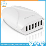 5V/7.2A Mobile Phone Accessory Travel Adapter 6 Ports USB Charger