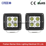 Waterproof CREE 16W Spot/Flood Cube LED Work Light for Jeep (GT1022-16W)
