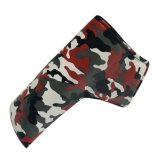 Blade Golf Putter Cover Red Camouflage Putter Headcover Synthetic Leather Magnetic Closure for Blade Putter