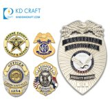 Wholesale Supplier Cheap Custom 3D British Italian Indian Pakistan Police Army Cup Lapel Pin Air Force Personalized Sheriff Security Guard Metal Military Badge