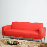 Contemporary Rectangle Leather Hotel Catering Sofa (SP-KS334)