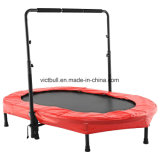 New Design Mini Oval Trampoline Bungee Trampoline with Adjustable handle Bar