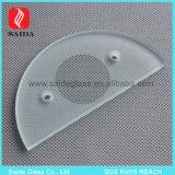 Customized Figured Clear Borosilicate Glass