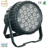 24 10W RGBWA Waterproof IP65 Outdoor LED PAR Can Stage Light