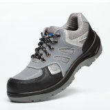 Fabric and Sports Style Nubuck Leather Safety Shoes
