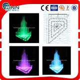 Outdoor Garden Supplies Music Fountain Colorful Water Fountain