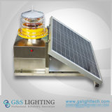 GS Medium-Intensity Solar Aviation Obstruction Light for Telecom Tower