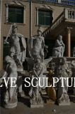 Wholesales Religious Marble Stone Angel Statue Sculptures Price Mfsg-112