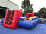 Human Inflatable Football Pitch Kids Play Field
