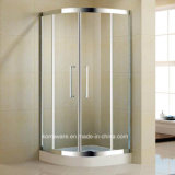 Quadrant Stainless Steel Shower Room with 8mm Tempered Glass (K-SS14)