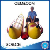 Durable 0.9mm PVC Inflatable Banana Boat with Wholesale Price