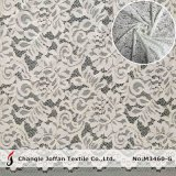 Ivory Raschel Lace Fabric Cotton Lace for Garment Accessories (M3460-G)