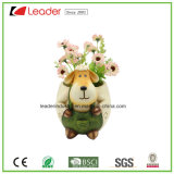 Polyresin Cute Sheep Boy Flowerpots&Planters for Garden Decorative