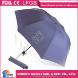Wholesale Promotional Gift Outdoor Rain Reflective Folding Umbrella
