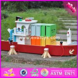 2017 Wholesale Baby Wooden Toy Cargo Ship, Best Sale Toddlers Wooden Toy Cargo Ship, Funny Wooden Toy Cargo Ship W04f006