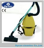 Compact Backpack Vacuum Cleaner in Yellow