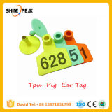 100PC Animal Identification Ear Tag No. 1-100 Apply to Pig Cattle Sheep Donkey Horse Farm Animal Feeding Tools 3 Colors
