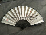 Promotion Gift Bamboo Custom Printed Paper Folding Hand Fan